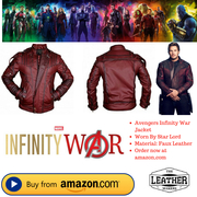 Iron Man Infinity War Jacket